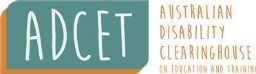 Logo ADCET from website
