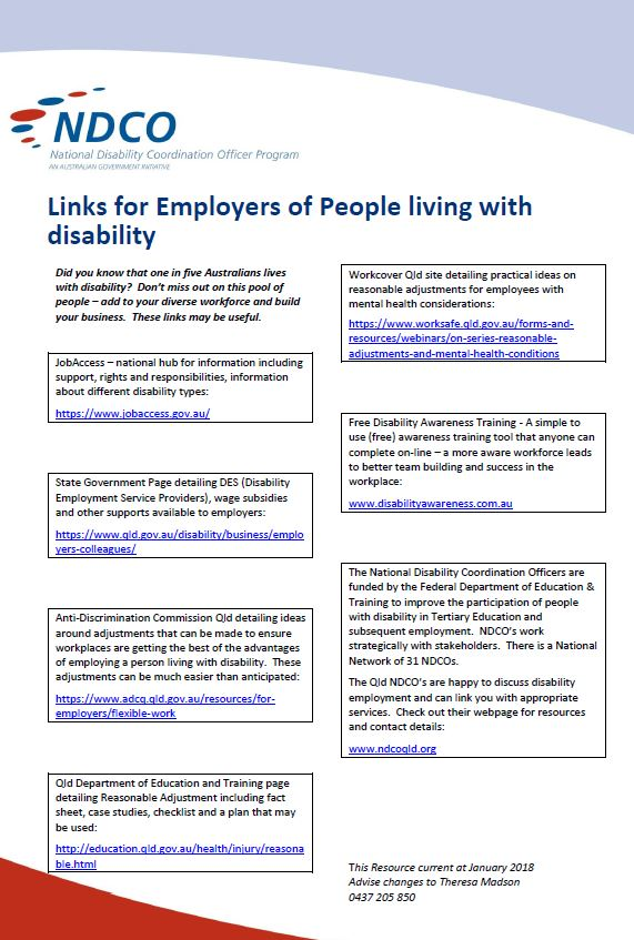 Employer Useful Links image of resource