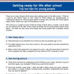 Image Get Ready for Study and Work Top Tips