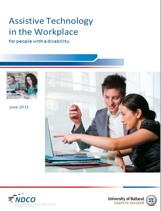 Image Assistive Technology in the Workplace resource