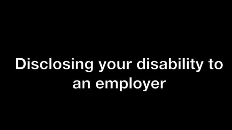 Sharing Personal Information with an Employer Video